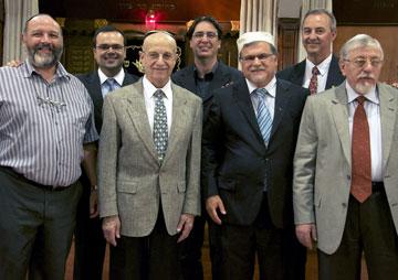 Primeira Diretoria do CCJM - Conselho das Congregações Judaico Messiânicas no Brasil