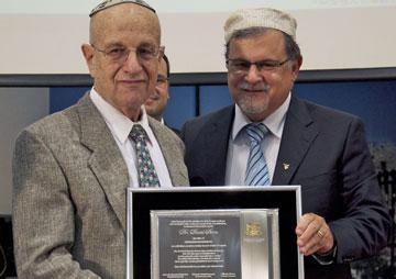 Homenagem da CCJM ao Conselheiro Internacional, Dr. David Stern