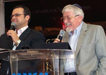 """Rabino Joseph Shulam em sua palestra sobre """"Deus, Israel e a Igreja"""""""