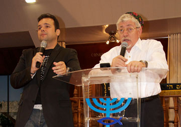 """Palestra de Joseph Shulam - """"Os Anussim serão restaurados""""!"""