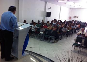 Pessoas de vários estados da região nordeste compareceram ao evento