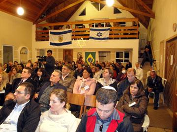 Mais de 120 participantes lotaram o espaço reservado para o Curso. Pessoas de vários estados estiveram presentes