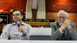 """Palestra do Rabino Joseph Shulam - """"A Igreja de Atos e sua Ruptura com Jerusalém""""."""