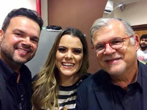 Os líderes do Ensinando de Sião atenderam com alegria o convite de Ana Paula Valadão. Restauração já!