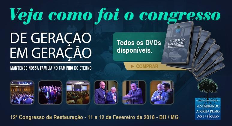 Clique e adquira os DVDs do 12º Congresso.