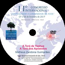11º Congresso Restauração - A Torá de Yeshua, A Torá dos Apóstolos | Matheus Zandona Guimarães (Brasil)