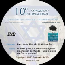 10° Congresso - O Brasil possui o maior contingente de Anussim do Mundo - Qual o plano do Eterno pra eles? -  Marcelo M. Guimarães