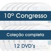 10° Congresso - COLEÇÃO COMPLETA